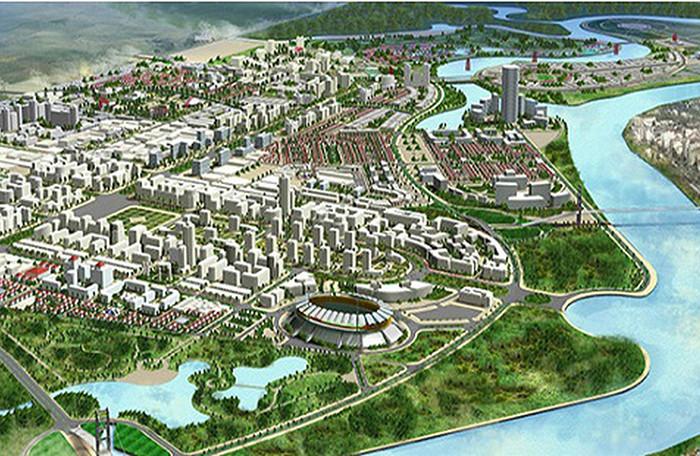 dự án khu đô thị bắc sông cấm
